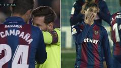 ¿Se atrevió Campaña a aconsejar a Messi en una falta directa?