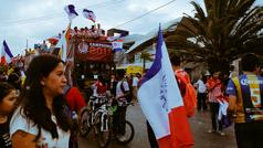 Festejos del Atlético de San Luis