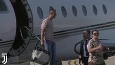 Así llegó Cristiano Ronaldo a Turín