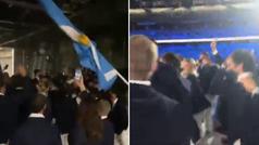 Nadie vivió la ceremonia como los argentinos: ¡vaya fiesta desde dentro!