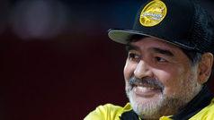 """Diego Armando Maradona: """"Sí me gustaría dirigir a la selección mexicana"""""""