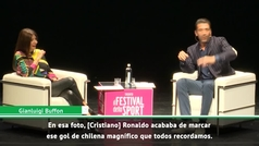 Buffon confiesa qué le preguntó a Cristiano después de que le marcara el golazo de chilena