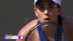 Garbiñe Muguruza ya está en cuartos del torneo de Berlín