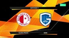 Europa League (1/16, ida): Resumen del Slavia 0-0 Genk