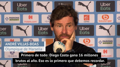 """Villas-Boas: """"Recibí un WhatsApp que decía que Diego Costa quería venir al OM, pero..."""""""