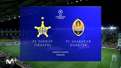 Champions League (J1): resumen y goles del Sheriff 2-0 Shakhtar Donestk