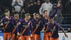 Champions League (J5): Resumen y goles del Olympique Lyon 2-2 Manchester City