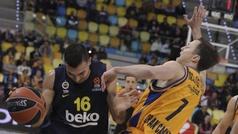 Euroliga. Resumen: Gran Canaria 64-82 Fenerbahce