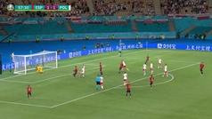 El doble fallo que condenó a España: Gerard de penalti y Morata en el rechace