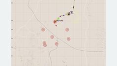 La pérdida de Carlos Sainz en la etapa 3 en el GPS del Dakar