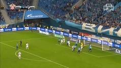 Gol de Ilya Skrobotov en el Zenit 2-1 Dymano Moscú