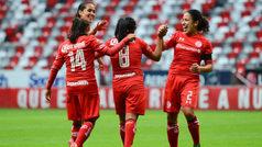 Toluca vs Lobos BUAP: Las Diablitas golean a Lobos BUAP Femenil en su debut