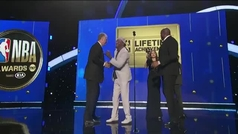 "Magic Johnson vs Larry Bird, premio a una rivalidad: ""Gracias por empujarme a la grandeza"""