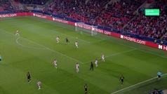 Gol de Lautaro Martínez (1-3) en el Slavia 1-3 Inter