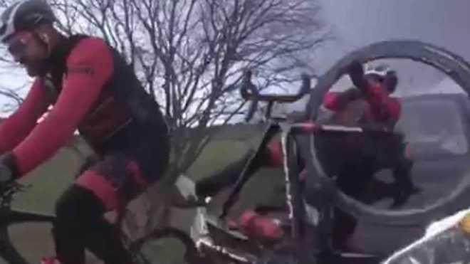 Las impactantes imágenes del atropello que sufrió Dani Rovira durante un rodaje