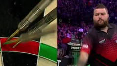 Michael Smith consigue la tirada perfecta con nueve dardos