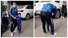 El momento más emotivo de la carrera de Messi y no es en un campo de fútbol