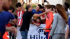 El Atlético de Madrid ya está en Tel Aviv para despedir la temporada