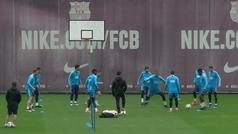 ¿Caño de Messi a Boateng?