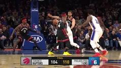 76ers 110-104 Raptors