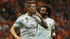 Champions League (Grupo A): Resumen y gol del Galatasaray 0-1 Real Madrid