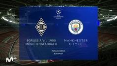 Champions League (octavos ida): Resumen y goles del B. Mönchengladbach 0-2 M. City