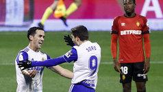 Copa del Rey (1/16): Resumen y goles del Zaragoza 3-1 Mallorca