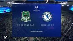 Champions League (J2): Resumen y goles del Krasnodar 0-4 Chelsea