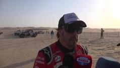 Fernando Alonso en la etapa 10 del Dakar