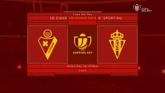 MX: Copa del Rey (1/16, vuelta): Resumen y goles del Eibar-Sporting