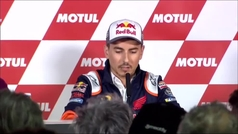 """Jorge Lorenzo, emocionado: """"Esta será mi última carrera en MotoGP, me retiro como piloto"""""""