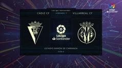 MX: LaLiga (J7): Resumen del Cádiz 0-0 Villarreal