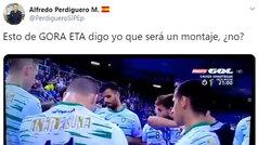 """Un subinspector de Policía acusa al Anaitasuna de decir """"Gora ETA"""""""