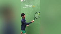 """La respuesta de Djokovic al reto de Federer: """"¿Suficientemente bueno?"""""""