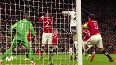 Gol de Demiral (0-2) en el Manchester United 3-2 Atalanta