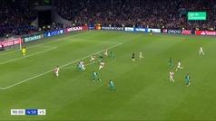 Gol de Lucas Moura (2-3) en el Ajax 2-3 Tottenham