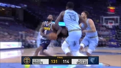 Grizzlies 114-131 Nuggets