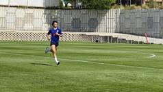 Joao sigue al margen mientras el Atlético sigue sumando cargas de trabajo en grupo