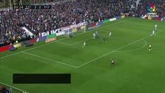 Gol de Luis Suárez (2-3) en el Rayo Vallecano 2-3 Barcelona