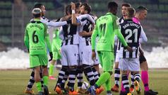 Copa del Rey (1/16 final): Resumen y goles del Fuenlabrada 1 (2)-(4) 1 Levante