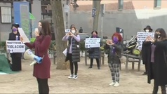 Madrid vive hoy un Día de la Mujer sin derecho a la manifestación