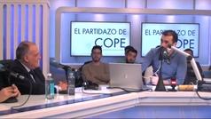 """Así fue el enganchón entre Tebas y Juanma Castaño: """"Que te crece la nariz..."""""""