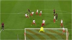 Control y precisión en el golazo de Dani Olmo: lo que se le escapó al Barça...