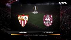 Europa League (1/16, vuelta): Resumen del Sevilla 0-0 Cluj