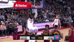 Pistons 113-102 Cavaliers