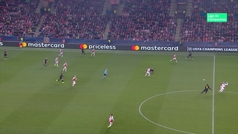 Gol de Lukaku (1-2) en el Slavia 1-3 Inter