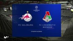 Champions League (J1): Resumen y goles del Salzburgo 2-2 Lokomotiv Moscú
