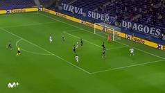 Gol de Sergio Oliveira (2-0) en el Oporto 2-0 Olympiacos