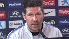 """Simeone revela el regreso de Diego Costa: """"Está bárbaro, que se sale..."""""""