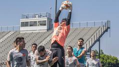 Moisés Muñoz realiza su último entrenamiento con el América